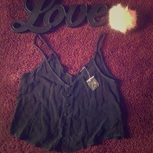 Black top. Forever 21. ❤️